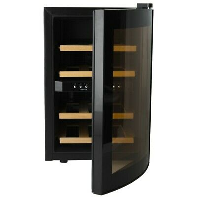 h.Koenig age12wv Wine Fridge for 12 Bottle 2 temperaturzonen