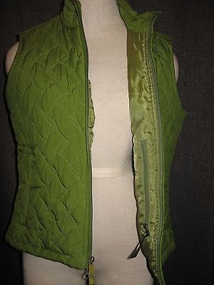 Nice LADIES ROYAL ROBBINS PACKABLE VEST QUILTED TWO WAY ZIP size Medium