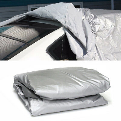 3x Size Car Cover Waterproof Outdoor Sun UV Snow Dust Rain Resistant Protection