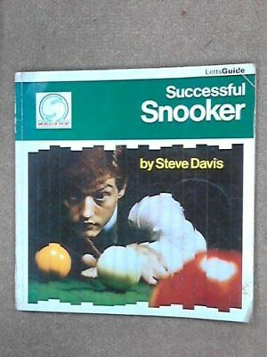 Successful Snooker (Letts Successful Sports) by Davis, Steve Paperback Book The