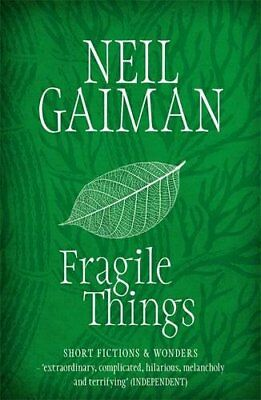 Fragile Things by Gaiman, Neil Paperback Book The Cheap Fast Free Post