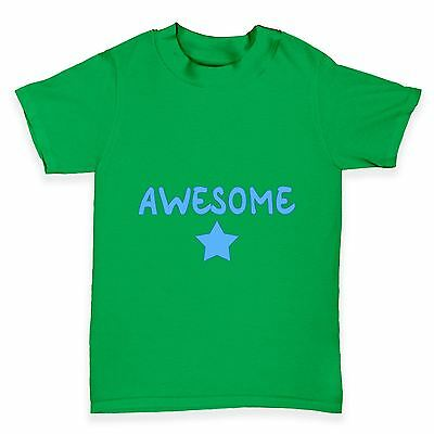 Twisted Envy Awesome Star Baby Toddler Funny T-Shirt