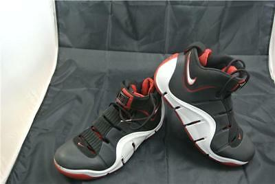 Nike Zoom Lebron Iv Trainers Uk10  Black/white/red Basketball Trainers Special