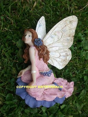 New Design Rubber Latex Mould Mold Moulds Fairy Fairie Wall Plaque B