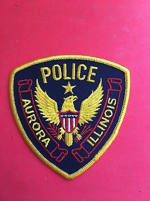 Aurora Illinois   Police  Shoulder Patch