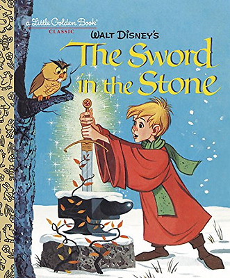 The Sword in the Stone (Disney) (Little Golden Book) - Hardcover NEW Carl Memlin