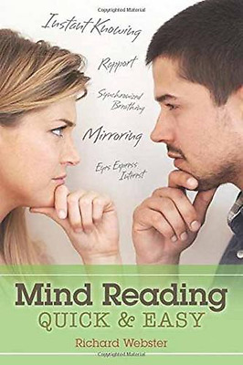 Mind Reading Quick and Easy - Paperback NEW Richard Webster 2015-09-08