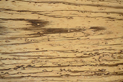 Zebrano Raw Wood Veneer Sheets 6 x 54 inches 1/42nd thick                7837-19