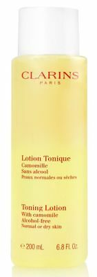 TONING LOTION WITH Camomile Normal or dry Skin (Alcohol-free) by Clarins  6 8 oz