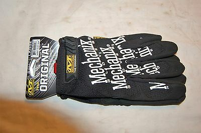 Mechanix Wear The Original Gloves Black Large