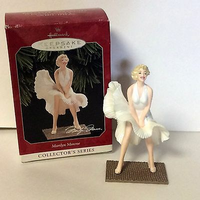 New 1998 Hallmark Marilyn Monroe Christmas Tree Ornament