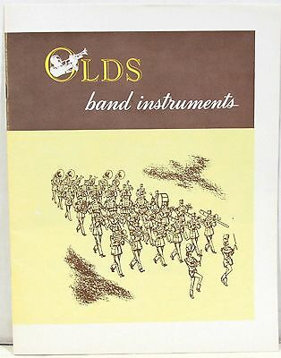 1958 Catalog of OLDS Band Instruments from F E Olds & Son Co – Horn Instruments