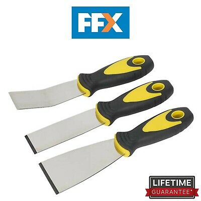 Siegen S0600 Rigid Blade Scraper Set 3pc