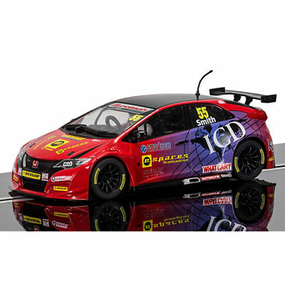 SCALEXTRIC Slot Car C3860 BTCC Honda Civic Type R, Jeff Smith