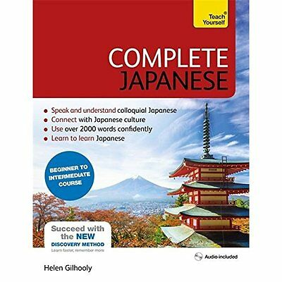 Complete Japanese Beginner to Intermediate Book and Aud - Paperback NEW Helen Gi