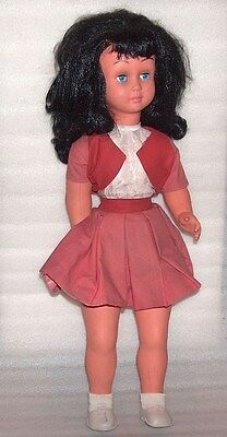 Rare Vintage Large Celluloid? Doll, Made In Italy?, Not Marked