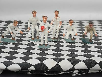 Carrera 1960's  Set Of 7 Figures  1:32 Scale   1:32 Used