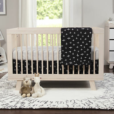 babyletto Tuxedo Monochrome 2-in-1 Play and Toddler Baby Blanket