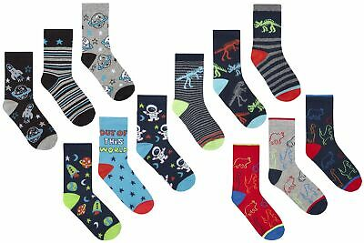 Zest Boys Cotton Rich Socks