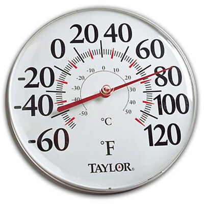"Taylor 49562 12"" Big Read Dial Thermometer"