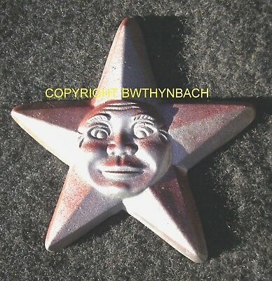 New Rubber Latex Mould Mold Moulds Pagan Wiccan Star Wall Plaque 1