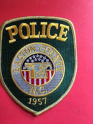 Gaston County  North Carolina  Police  Shoulder  Patch