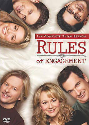 Rules of Engagement: The Complete Third Season 3 Three (DVD, 2-Disc Set) - NEW!!
