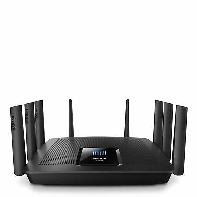 Linksys EA9500 AC5400 MAX-STREAM Tri-Band Wi-Fi Cable Router 8 Port 5333.3Mbps