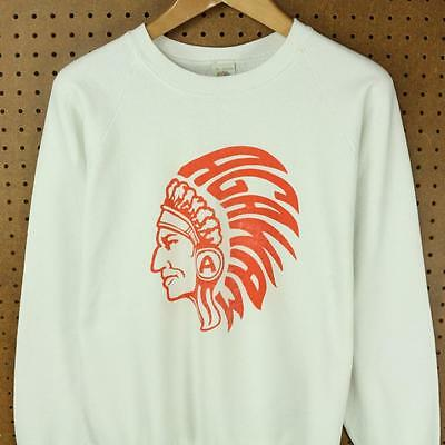 vtg 80s 90s usa made AGAWAM ma raglan sweatshirt XL fruit of the loom thin boxy