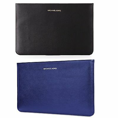 """Michael Kors Genuine Leather Sleeve / Pouch Case for 13"""" Apple MacBook Air"""