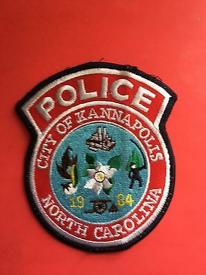 City Of Kannapolls  North Carolina  Police  Shoulder  Patch