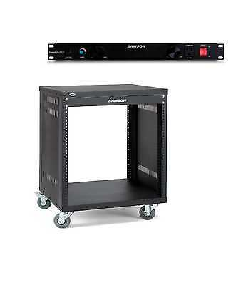 Samson SRK-12 Rack PB-15 PowerBrite Conditioner Bundle