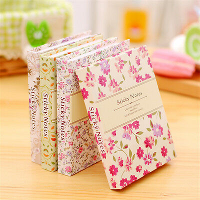 Little Flowers Sticky Notes Message Stickers Notebook Write Paper Stationery