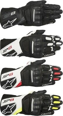 Alpinestars SP-8 V2 Leather Street Motorcycle Gloves Mens All Sizes & Colors