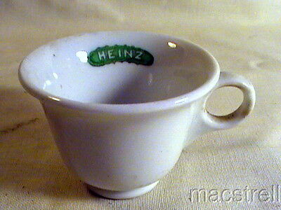 "1 3/4"" X 2 1/2"" Heinz Pickle Cup By Shenango China"