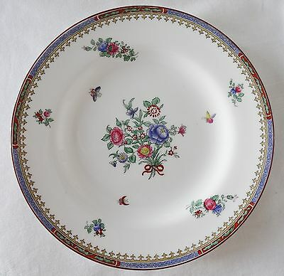 Antique SPODE COPELANDS  Salad or Dessert  Plate R8577 Floral & Insects