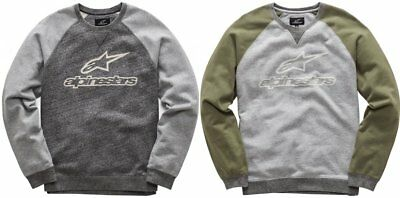 Alpinestars Mens Pace Crew Neck Pullover Fleece Sweatshirt