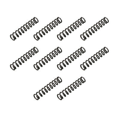 8mm Outer Diameter 1.2mm Wire Dia 40mm Long Compression Spring 10Pcs
