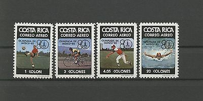 Olympiade, Olympic Games 1980 -  Costa Rica - ** MNH