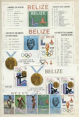Olympiade, Olympic Games 1980 - Belize - ** MNH