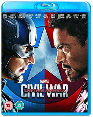 Captain America: Civil War  [Blu-ray] [2016] - DVD  TQVG The Cheap Fast Free