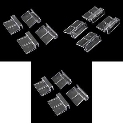 12Pcs Aquarium Fish Tank Plastic Clip Glass Cover Strong Support Holder 6/8/10mm