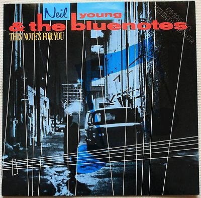 NEIL YOUNG & THE BLUENOTES This note's for you LP VINYL 1988 NEAR MINT (D2)