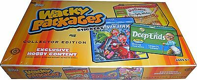 Topps WACKY PACKAGES 2013 ALL NEW SERIES 11 Factory Sealed Collector's Card Box