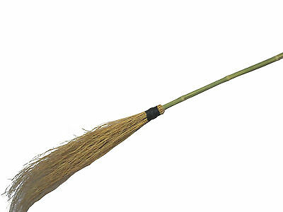 Prop Witches Broom Stick 1.1m Halloween Prop Decoration Fancy Dress Accessory
