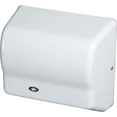 American Dryer Automatic Hand Dryer, Flame Retardant Abs, 120V White Gx1