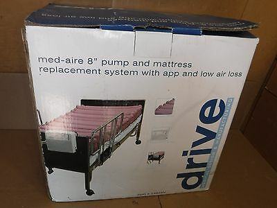 """New In Box Med-Aire 8"""" Alternating Pressure And Low Air Loss Mattress System"""
