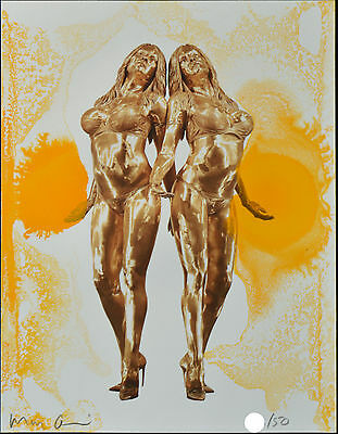 Marc Quinn - 'The Ecstatic Autogenesis of Pamela' - Signed Limited Ed. Art Print