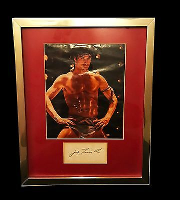 John Travolta Hand Signed 15X12 Autographed Cut Photo Framed With Coa Very Rare