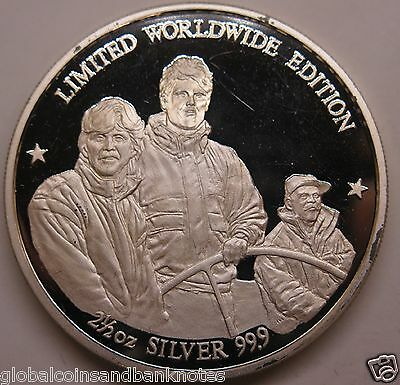 Team New Zealand 1995 Americas Cup Winner 2 1/2oz .999 Silver Coin